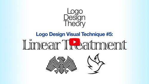Logo Design Visual Treatment #5: Linear Treatment