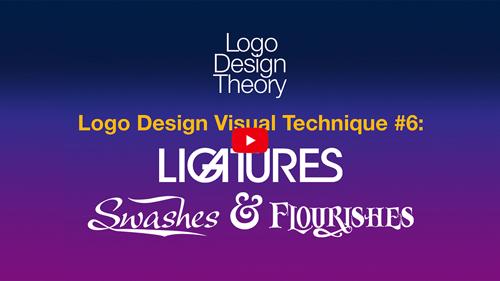 Logo Design Visual Treatment #6: Ligatures, Swashes and Flourishes