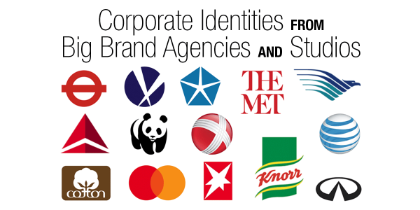Corporate Identities from Big Brand Agencies and Studios