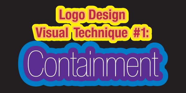 Logo Deisgn Visual Technique #1: Containment