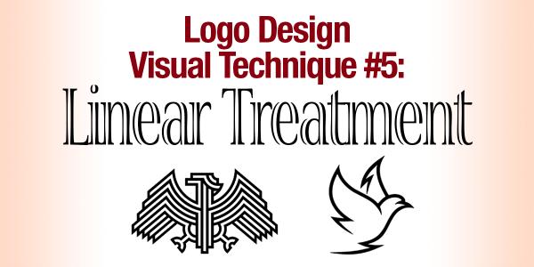 Logo Design Visual Techniques #5: Linear Treatment