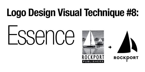 Logo Design Visual Technique #8: Essence